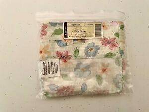 Longaberger Medium Berry Basket Liner in Floral Bloom Fabric 21474286 New