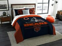 Chicago Bears King Size Bedding Comforter and Shams Set