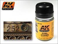 AK Interactive - 35ml Fuel Stains   Model Making Realism Effects   AK00025