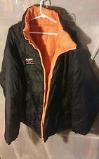 Men's Vintage FUBU Reversible Water Resistant Puffer Quilted Winter Coat sz 4XL