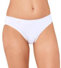 sloggi 24/7 Microfibre 10180848 Pack of 3 Tai Brief Knickers Underwear 10-20 30 White