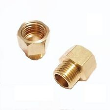 Fitting Reducer Metric M8 M8X1 Female to M10 M10X1 Male Gauge Meter Adapter @70