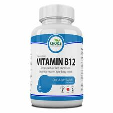 Vitamin B12, Immune Support, High Strength One a Day, Reduces Fatigue, Free P&P