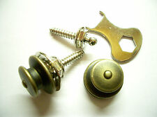 Loxx Security Lock Electric Paar Brass Antique