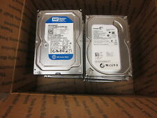 "( Mixed Lot of 10 ) 160GB 3.5"" SATA DRIVE  7200 RPM   Random Lot of Major Brands"