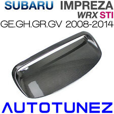 Carbon Fiber Air Hood Scoop Intake Vent Bonnet For Subaru WRX STI GE GH 2008-14