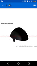 cafe racer brat hump seat cover abs