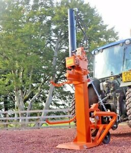 Venom 25ton Vertical PTO PRO Log Splitter By Rock Machinery