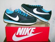 Women's NIKE OCEANIA Retro Sz 7.5 Black/Blue Glow Athletic Shoes 7 1/2 FAST SHIP