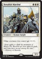MTG x4 Benalish Marshal Dominaria Rare White NM/M Magic the Gathering SKU#246
