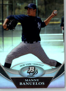 2011 Bowman Platinum Prospects Refractor #BPP29 Manny Banuelos - Yankees