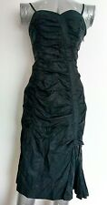 Brand New WHISTLES Ruched Strapless Cocktail dress size 8 knee length