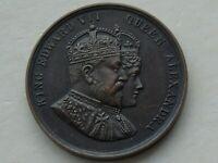 1902 Coronation Edward VII Alexandra, Woolwich issue Medal, Beautiful HIGH GRADE