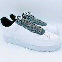 Nike Air Force 1 07 LV8 4 AF1 White Black Grey CK4363-100 Size 11 New