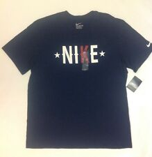 New Nike Men's AMERICANA Tee, Size XLarge, Navy MSRP $25 NWT