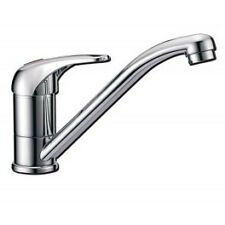 Single Lever Mixer Tap Pressure Operated Hot & Cold Chrome Swivel Long Spout