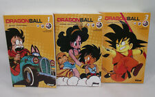 Lot de 3 livres DRAGON BALL N° 1, 2 & 3 Glénat Tome doubles Akira Toriyama Manga
