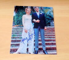 Diana Rigg & George Lazenby *James Bond*, original signed Foto 20x25 cm (8x10)