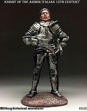 Knight, Italian 15 century,Tin toy soldier 54mm, figurine,sculpture HAND PAINTED