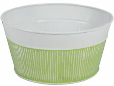 Robert Allen Home And Garden 8� Pot Prism Tansy Green Planter Mpt01906