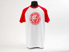 OFFICAL New Japan Pro Wrestling NJPW Lion Mark T-shirt XXL IMPORTED