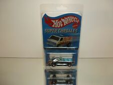 HOT WHEELS SUPER CHROME RED LINE #4of4 BYE FOCAL - 1:60? - UNOPENED CARD-BLISTER