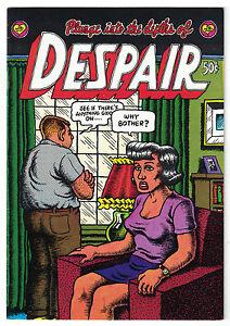 Despair•R. Crumb•1969 Print Mint•1st Print•Unread•VF+/NM