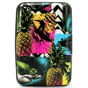 Maui and Sons RFID Wallet, Secure Aluminum Card Holder, Prevent Identity Theft