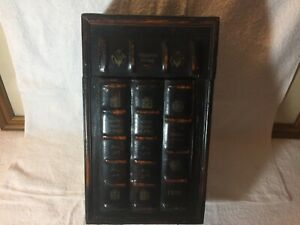 Wood Wine Box 14 X 8.5 X 5 top opening with latch