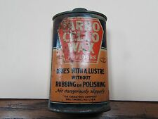 Farbo Cello Wax floor wax tin with instructions