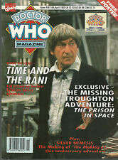 RARE Back Issue - DOCTOR WHO MAGAZINE #198 - FREE POSTER - Patrick Troughton