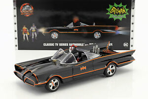 Batmobile Classic TV Series 1966 mit Batman und Robin Figur 1:18 Jada Toys
