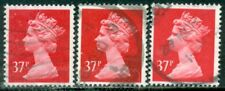 GREAT BRITAIN SG-X990, SCOTT # MH-155 MACHIN, USED, 3 STAMPS, GREAT PRICE!