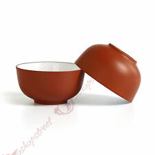 4pcs 40ml Chinese YiXing ZiSha Red Glazed clay Teacup Gongfu tea Bowl-cup cups