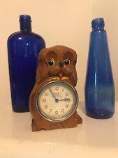 Vintage TEZUKA Clock MOVING EYE Dog  antique