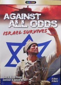 Against All Odds Israel Survives 6-Disc 13 Programs Plus Featured Film NEW DVDs