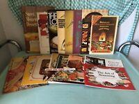 Vintage Lot Pamphlet Promotional Cookbooks 1940's 1950's 1960's 1970's Recipes
