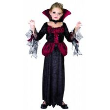 Girls VAMPIRE FANCY DRESS Costume Gothic NEW