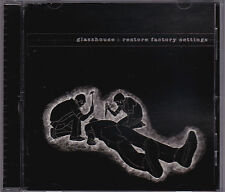 Glasshouse - Restore Factory Settings - CD (BONE001 bonefinger)