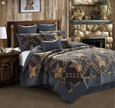 King Size-Paducah Star-3 pc Quilt Set 105 x 95 with 2 shams-New In The Package