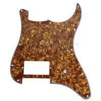 1 Cinnamon Pearl 3Ply Electric Guitar One Humbucker Pickguard For Fender Strat