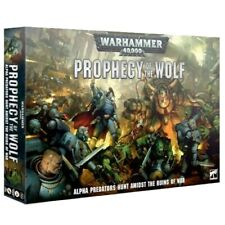 Warhammer 40K Prophecy Of The Wolf  NEW (Eng) Space Wolfs and Orks