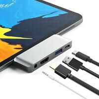 4K HDMI USB3.0 Aluminium Typ C Mobile Pro Hub Adapter für iPad Pro Typ C Geräte