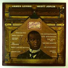 "12"" LP-Scott Joplin-James Levine plays Scott Joplin-d677-cleaned"
