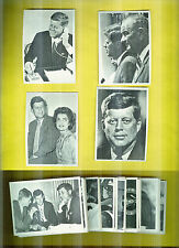 1964 Topps John F.Kennedy Complete Set Short 1 Card Has Shortprints