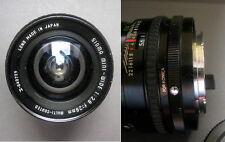 Objektiv Sigma Mini Wide 1 : 2,8 f = 28 mm, No. 340729, Bajonett, Lens Japan