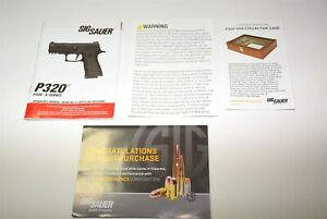 SIGARMS SIG SAUER P30 X SERIES/M18 INSTRUCTION MANUAL/INSTRUCTION BOOK ARMORERS