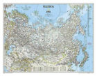 National Geographic: Russia Classic Wall Map (30.25 X 23.5 Inches)