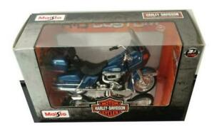 Harley Davidson 1980 FLT Tour Glide in blue 1:18 scale model from Maisto