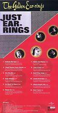 "Golden Earring (The Ear-Rings) "" Just Ear-Rings "" 1. Factory! 1965! NEW CD"